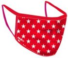 McKeever Sports Reusable Face Mask Red Star
