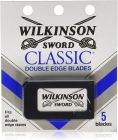 Wilkinson Sword Classic Double Edge Safety Razor 5Pack