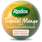 radox bath bomb tropical mango