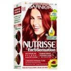 Garnier Nutrisse Creme Permanent Hair Colour 6.6 Watermelon Red