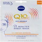 nivea Q10 Plus C Anti-Wrinkle + Energy Face Sheet Mask