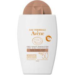 Avene SOL Tinted mineral fluid 50+ 40ml