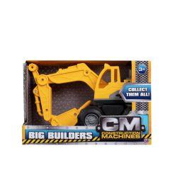 HTI Toys Big Builders Construction Machine Excavator