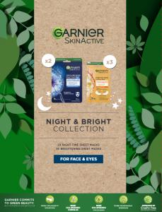 Garnier Night & Bright Collection Gift Set