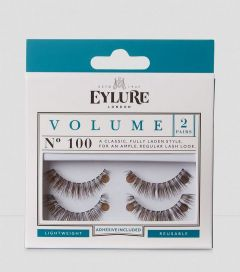 eylure lashes super full no.100 twin pack