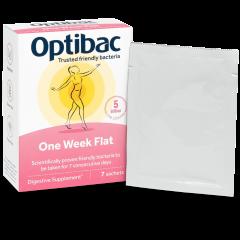 Optibac One Week Flat 7pk
