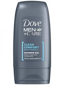 dove men+care clean comfort shower gel 250ml