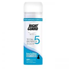Right Guard Women Total Defence 5 Invisible Anti-Perspirant 50ml