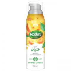 radox shower mousse feel bright 200ml