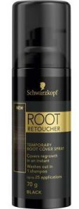 schwarzkopf root retouch spray black 120ml