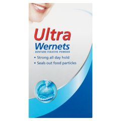 wernets ultra denture fix powder 40g