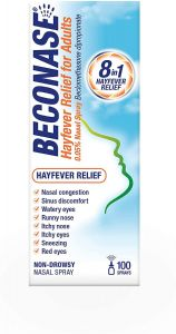 Beconase Hayfever Relief for Adults Nasal Spray 100ml