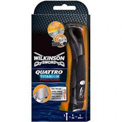 Wilkinson Sword Quattro Titanium Precision Men's Razor