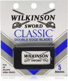 Wilkinson Sword Classic Double Edge Safety Razor 5Pack