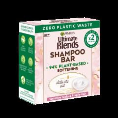 Garnier Ultimate Blends Delicate Oat Softening Shampoo Bar 60g