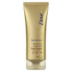 Dove Summer Revived Face Lotion Medium to Dark 75ml