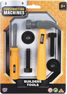 HTI Toys Construction Machines Builder Tools