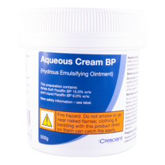 aqueous cream BP 500g