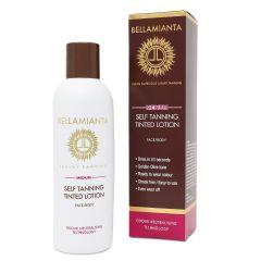 Bellamianta Medium Self Tanning Tinted Lotion 200ml