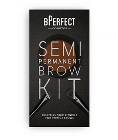 bPerfect semi-permanent eyebrow kit irid brown