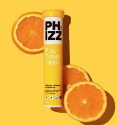 Phizz Orange Multivitamin & Hydration Effervescent 20
