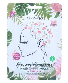 Derma V10 You Are Flamazing Hair Sheet Mask