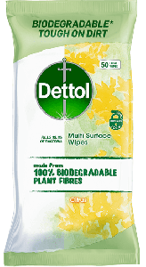 Dettol Antibacterial Multi Surface Wipes 56 pack