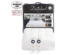 dreamland cotton mattress protector super king