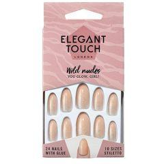 elegant touch nails wild nudes you glow girl!