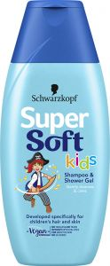 Supersoft Kids Boys Shampoo and Conditioner, 250ml