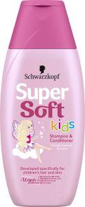 Supersoft Kids Girls Shampoo and Conditioner, 250ml