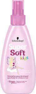 Supersoft Kids Girls Detangling Spray 150ml