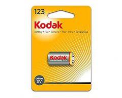 Kodak K123LA Photo Lithium Battery