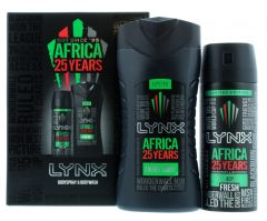 Lynx Africa 25-Year Duo Gift Set for Men