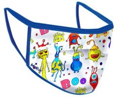 McKeever Sports Reusable Face Mask Monster Kids