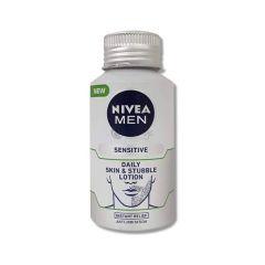nivea men sensitive daily skin and stubble lotion 125ml