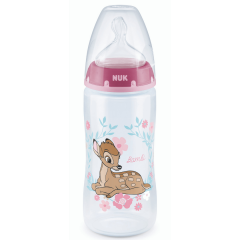 NUK First Choice + Bottle 300ml Bambi Size 2 Medium