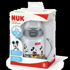 NUK FC+ MM Learner Bottle 150ml Grey