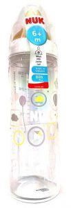 NUK First Choice PP Bottle Latex 6-18 Months Medium Flow Teat 250ml