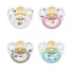 NUK Happy Kids Latex Soother 18-36 months 2 pack
