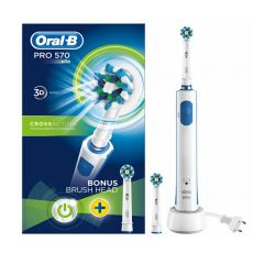 oral b pro electric cross action toothbrush