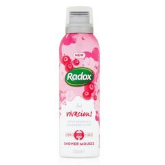radox shower mousse feel vivacious 200ml