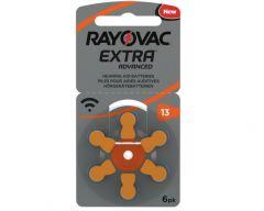 rayovac hearing aid battery 13