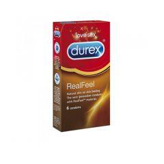 durex real feel 6 pack