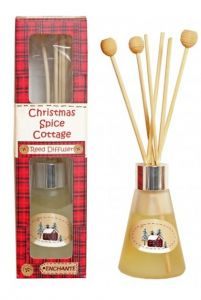 Enchante Christmas Spice Cottage Reed Diffuser