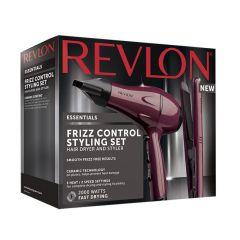 Revlon Frizz Control Styling Set Hairdryer & Straightener