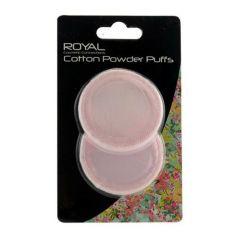 royal cotton powder puffs