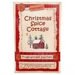 Enchante Christmas Spice Cottage Fragranced Sachet