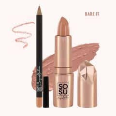 SOSU lip kit bare it