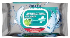 Ultra Compact Anti Bacterial Wet Wipes